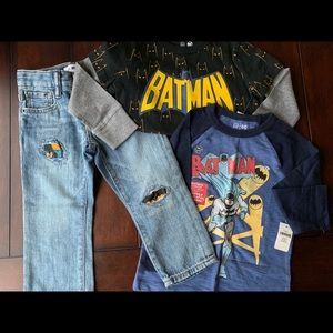 NWT Gap Toddler Boys Batman Special Edition BUNDLE